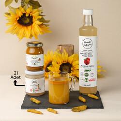 Fermente Mutfağım - 21 Günlük Sabah Detoks Paketi (1)