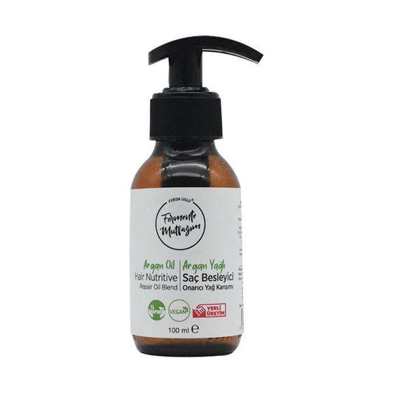 Fermente Mutfağım - Argan Yağlı Saç Besleyici Onarıcı