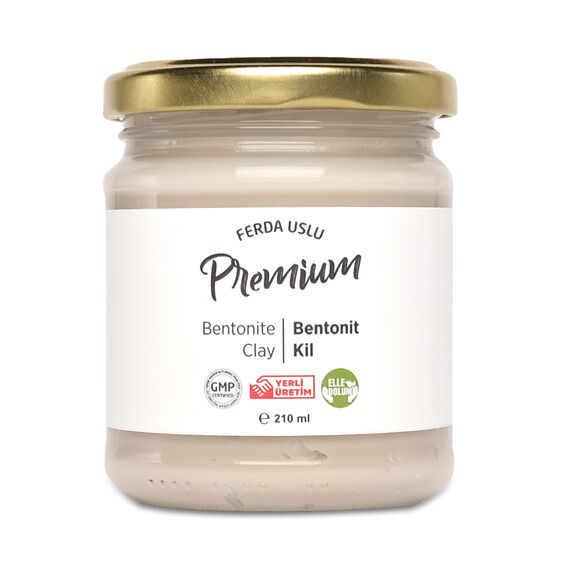 Fermente Mutfağım - Bentonit Kil 210 ml