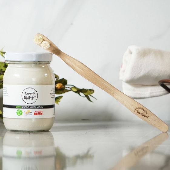 Fermente Mutfağım - Bentonit Killi Diş Macunu 200 ml (1)