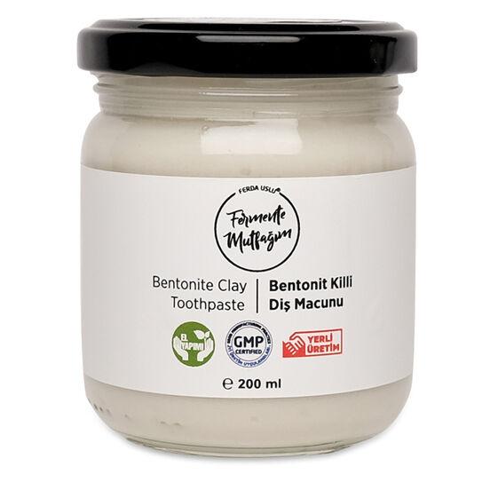 Fermente Mutfağım - Bentonit Killi Diş Macunu 200 ml