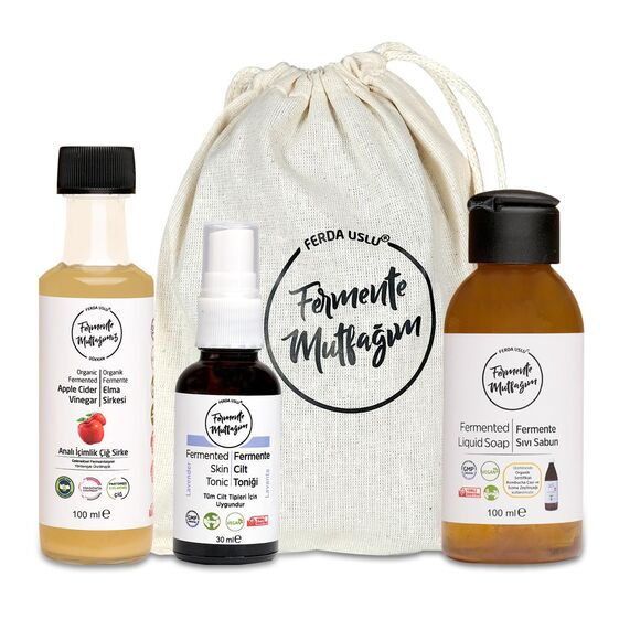 Fermente Mutfağım - Çanta İçi Mini Paket