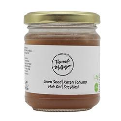Fermente Mutfağım - Keten Tohumlu Saç Jölesi