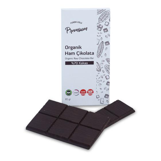 Fermente Mutfağım - Organik Ham Çikolata