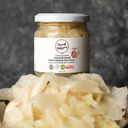 Fermente Mutfağım - 21'li Organik Probiyotik Lahana Turşusu Lakto Fermente Sauerkraut (1)