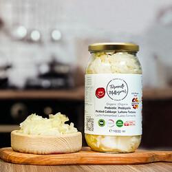 Fermente Mutfağım - Organik Lahana Turşusu 8 Ay Soğuk Fermantasyon (1)