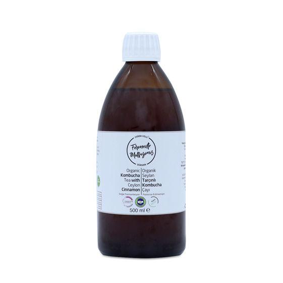 Fermente Mutfağım - Organik Seylan Tarçınlı Kombucha Çayı