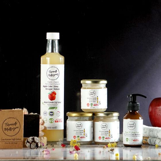 Fermente Mutfağım - Saç Bakım ve Onarım Paketi (1)