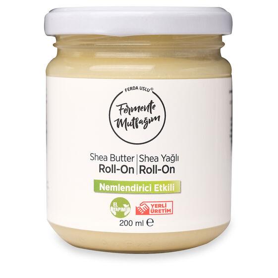 Fermente Mutfağım - Shea Yağlı Krem Deodorant Roll-on 200 ml
