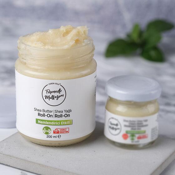 Fermente Mutfağım - Shea Yağlı Krem Deodorant Roll-on 200 ml (1)