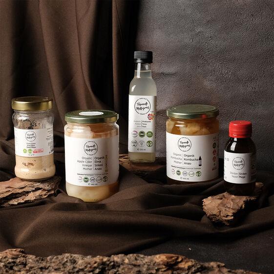 Fermente Mutfağım - Yaşayan Fermente Mayalar Seti (1)